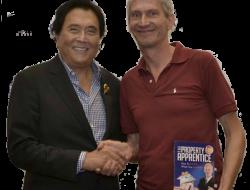 Jochen and Robert Kiyosaki